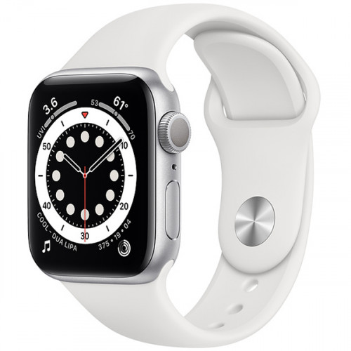 Умные часы Apple Watch Series 6 44 мм Серебристый
