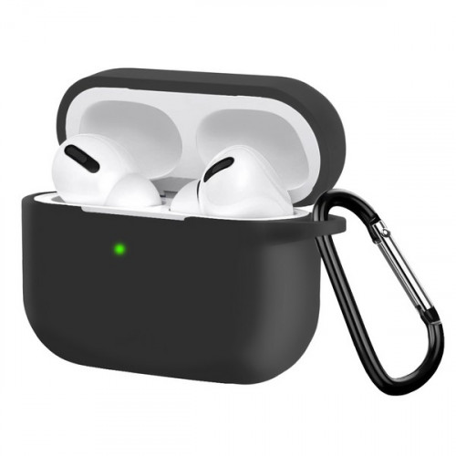 Чехол Silicon Case для Apple AirPods Pro черный