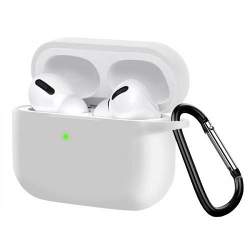 Чехол Silicon Case для Apple AirPods Pro белый