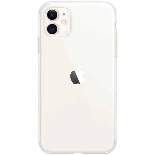 Silicon Case Apple iPhone 11 прозрачный