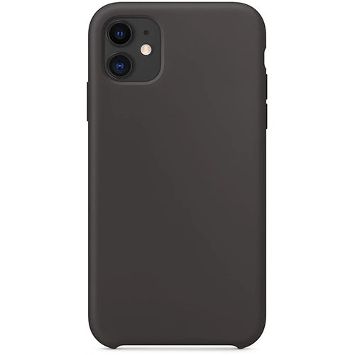 Silicon Case Apple iPhone 11 черный