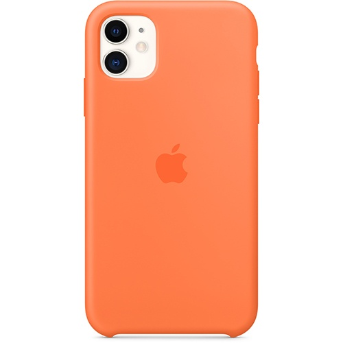 Silicon Case Apple iPhone 11 спелый клементин