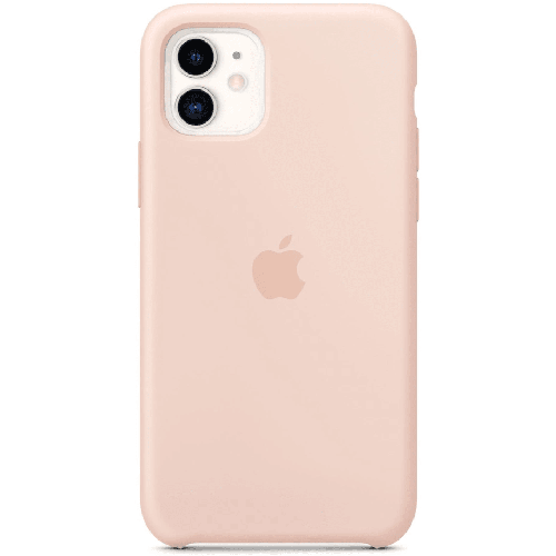 Silicon Case Apple iPhone 11 розовый песок