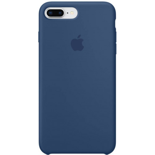 Silicon Case Apple iPhone 7 Plus/8 Plus тёмный кобальт
