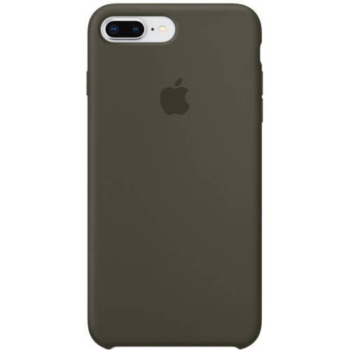 Silicon Case Apple iPhone 7 Plus/8 Plus тёмно-оливковый