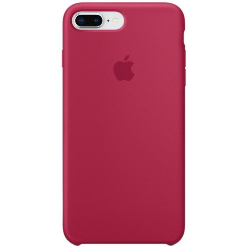 Silicon Case Apple iPhone 7 Plus/8 Plus красная роза