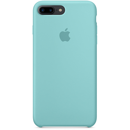 Silicon Case Apple iPhone 7 Plus/8 Plus голубой берилл