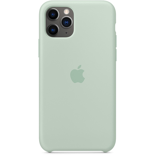 Silicon Case Apple iPhone 11 Pro голубой берилл