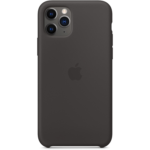 Silicon Case Apple iPhone 11 Pro черный