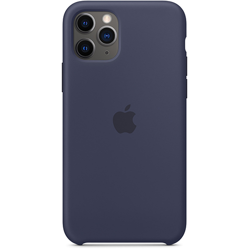 Silicon Case Apple iPhone 11 Pro темно-синий