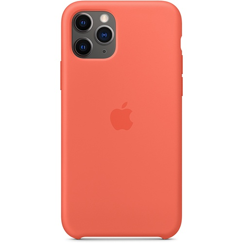 Silicon Case Apple iPhone 11 Pro спелый клементин