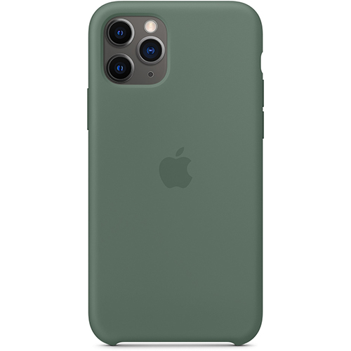 Silicon Case Apple iPhone 11 Pro Max сосновый лес