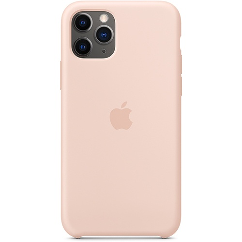 Silicon Case Apple iPhone 11 Pro розовый песок