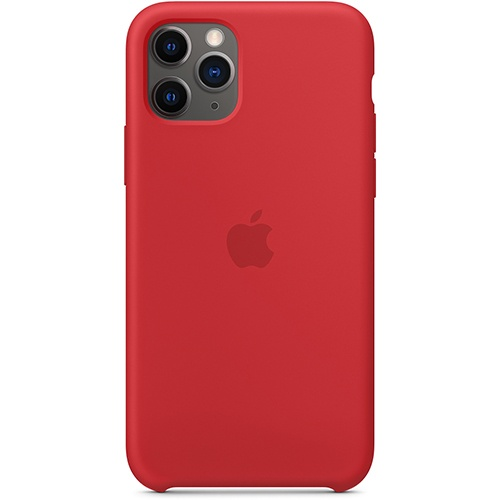 Silicon Case Apple iPhone 11 Pro красный