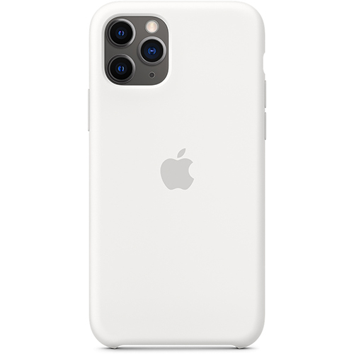Silicon Case Apple iPhone 11 Pro Max белый