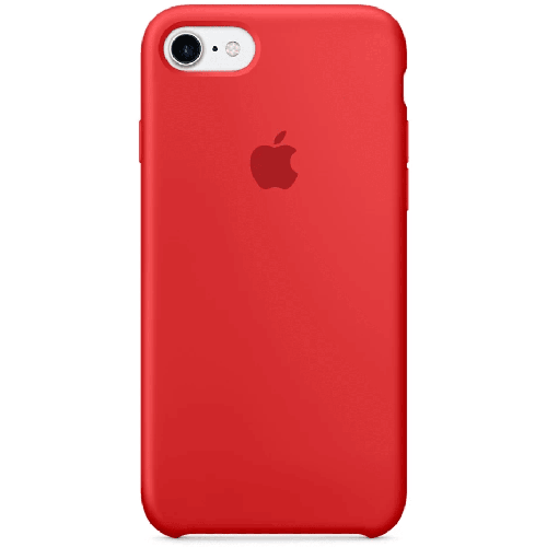 Silicon Case Apple iPhone 5/5S/SE красный