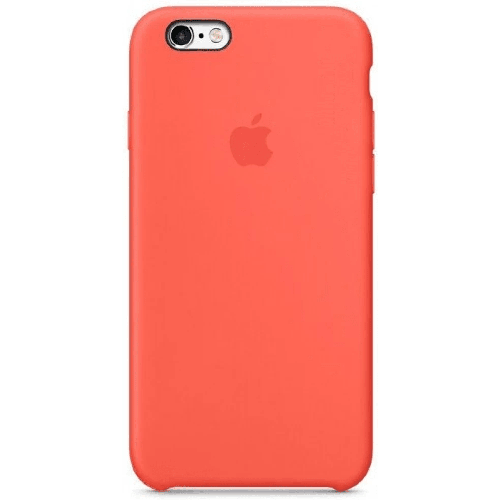 Silicon Case Apple iPhone 5/5S/SE спелый клементин