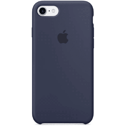 Silicon Case Apple iPhone 5/5S/SE тёмно-синий