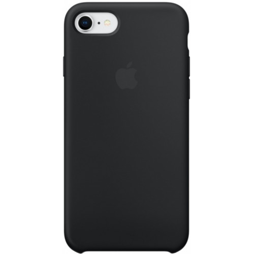 Silicon Case Apple iPhone 7/8 чёрный