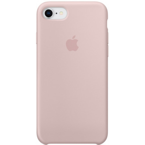 Silicon Case Apple iPhone 7/8 розовый песок