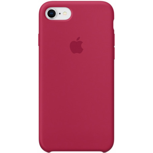 Silicon Case Apple iPhone 7/8 красная роза