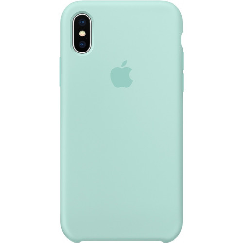 Silicon Case Apple iPhone XS Max зелёная лагуна