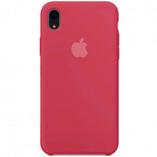 Silicon Case Apple iPhone XR красный