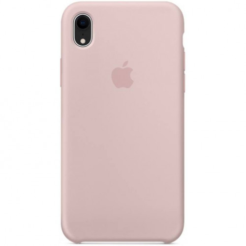 Silicon Case Apple iPhone XR розовый песок