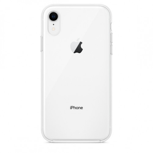 Silicon Case Apple iPhone XR прозрачный