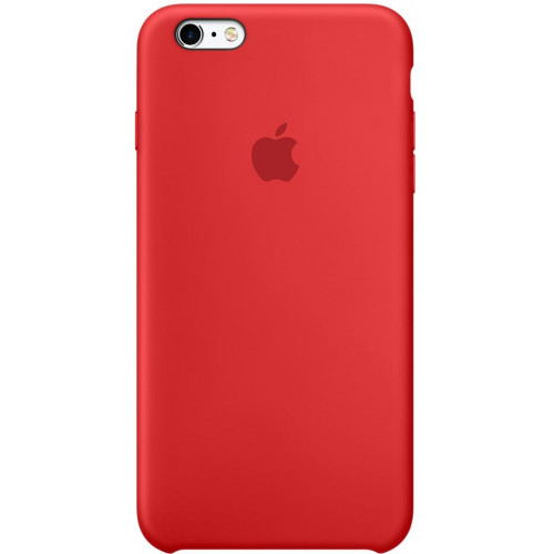 Silicon Case Apple iPhone 6 Plus/6S Plus красный