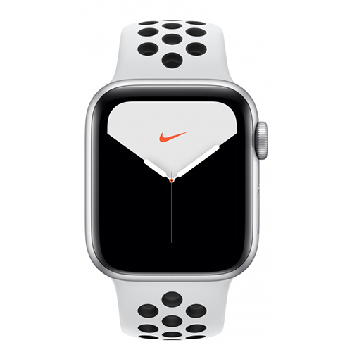 Умные часы Apple Watch Nike Series 5 44 мм Серебристый